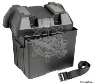 kutija za akumulator crna